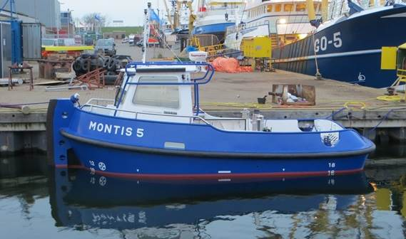 Stan Launch 804 Monris 5 delivery for Multraship