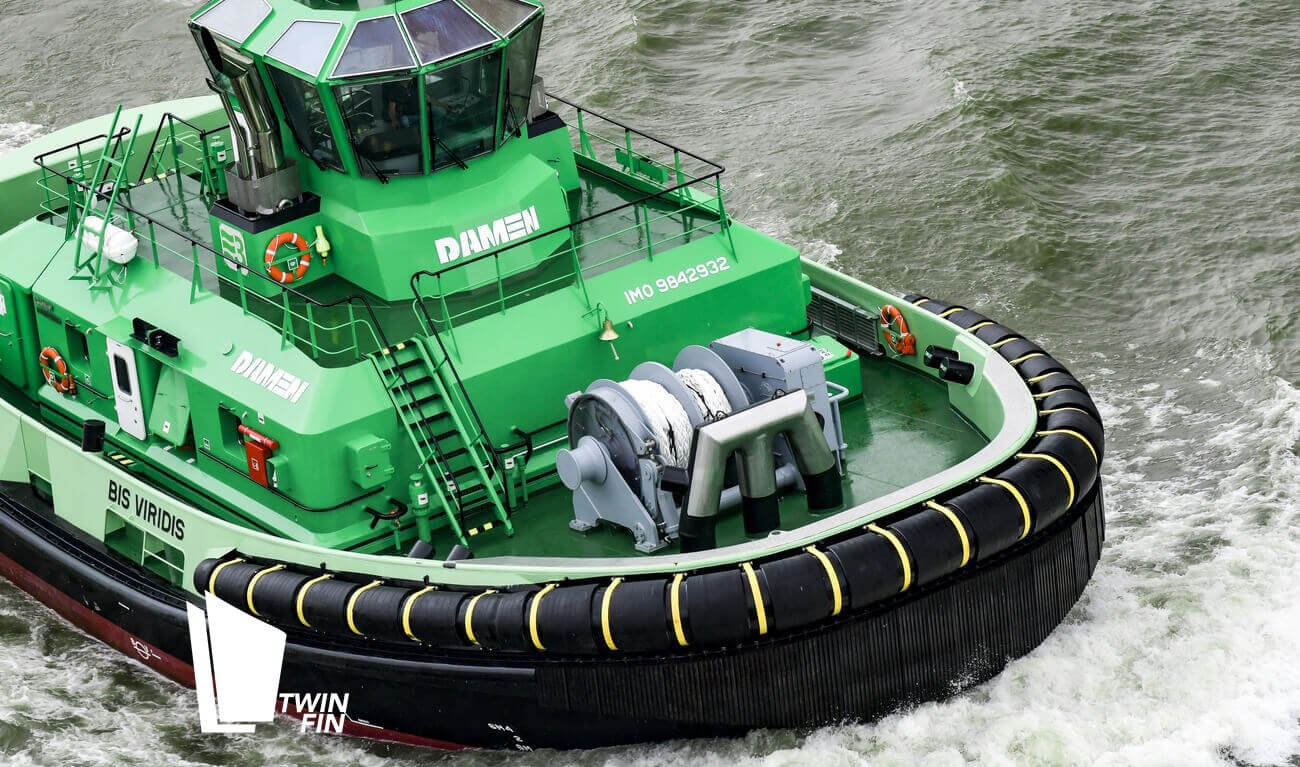 Damen Reversed Stern Drive (RSD) Tugs: Safe, Reliable & Innovative