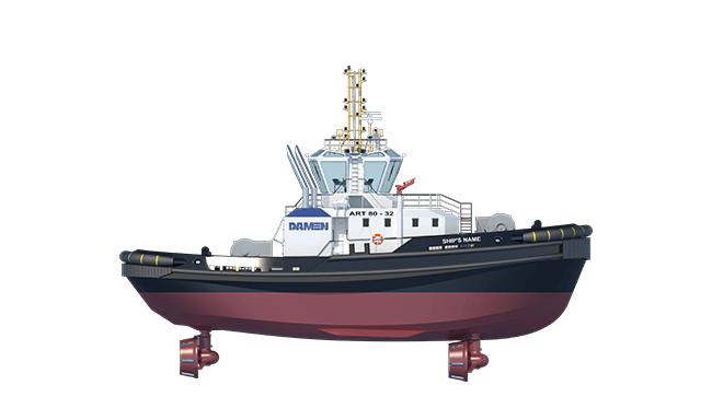 The Rotor Tug and its crew make an excellent combination, with a working environment that has been designed for maximum safety for all onboard.