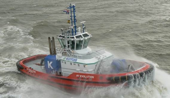 The Rotortugs® have excellent manoeuvrability, high indirect towing forces and superb stability