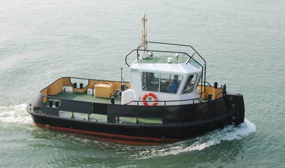 Kenya Ports Authority, which operates an extensive fleet of Damen-built vessels, took delivery of two Damen Stan 1004 Tugs on March 2, 2011.