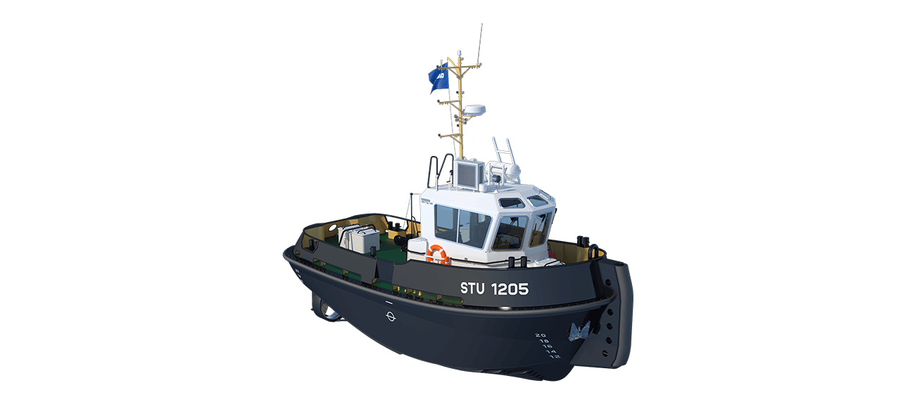 Damen Stan Tug 1205 has excellent seakeeping behaviour, superb manoeuvrability and outstanding towing characteristics
