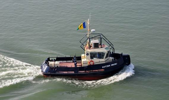 At Damen Shipyards Changde, Svitzer Middle East Limited took delivery of 'Svitzer Zola' and 'Svitzer Mbubu' on November 18, 2010.