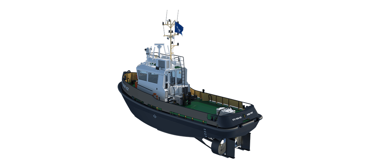 Damen Stan Tug 1606 ICE Class is designed and built to work in Ice