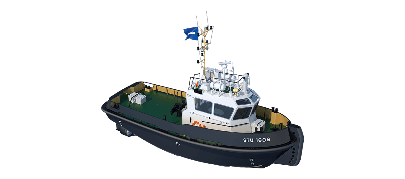 The well-known Damen philosophy of standardisation delivers a wide range of benefits in this new tug type