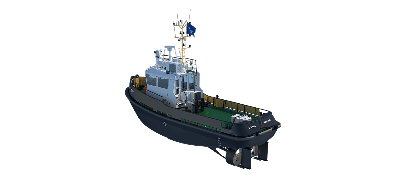 Damen Stan Tug 1606 has excellent seakeeping behaviour, superb manoeuvrability and outstanding towing characteristics