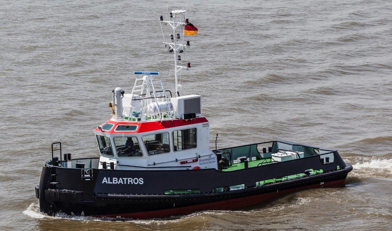 Damen Stan Tug 1606 delivered to Bremenports