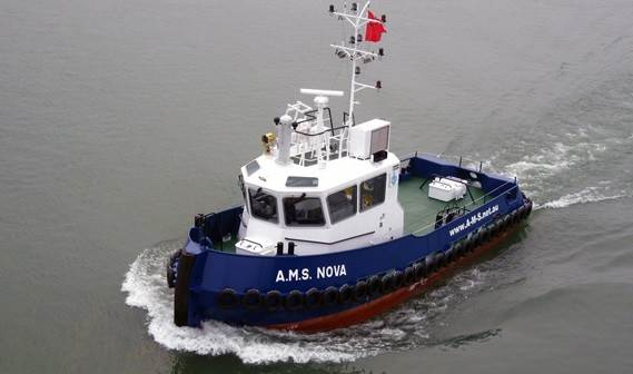 After successful trials held at Damen Shipyards Changde (China), the A.M.S. Nova was handed over to her owner: Australia Marine Services Pty Ltd (Perth).