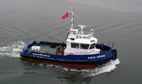Damen Shipyards Gorinchem delivered its fifth Stan 1606 Tug to Australia in March 2011.