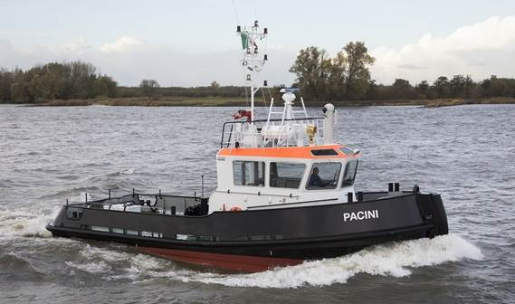 Fratelli Neri will mobilise the Stan Tug 1606, called 'Pacini', on shallow water operations in coastal and inland waters