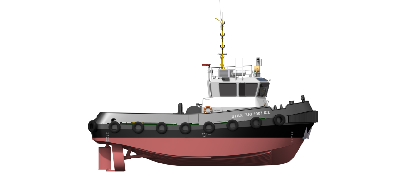 Stan Tugs have proven design & standardised first-class components.