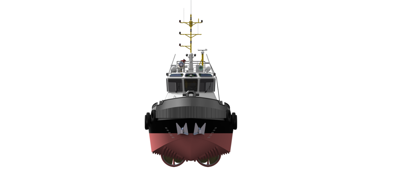 Stan Tug is a heavily built vessel with rigid foundations, extra plate thickness, extra brackets and extra fendering.