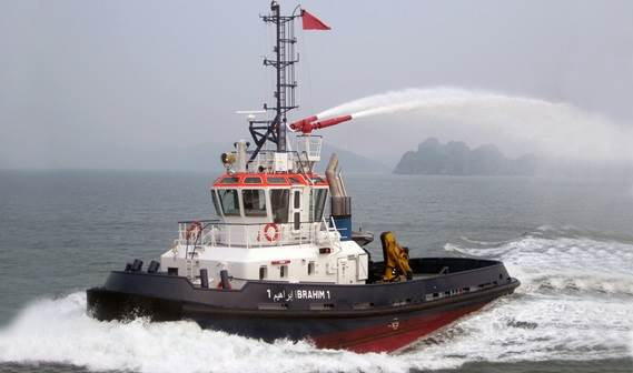 In March 2012 one (of two) Damen Stan 2608 Tugs was delivered to J.L. Tug in Morocco.