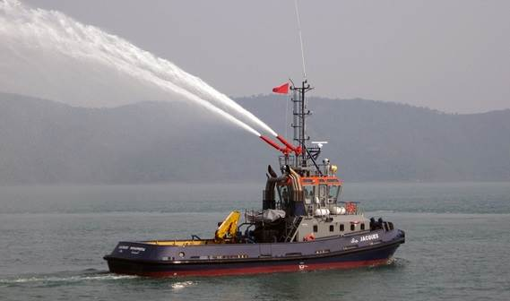 In March 2012 one (of two) Damen Stan 2608 tugs was delivered to Fedala Tug in Morocco.
