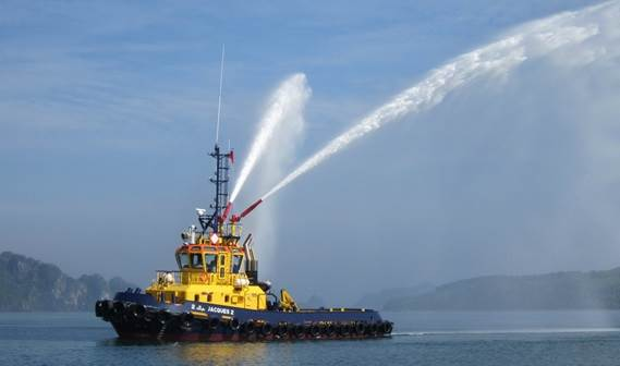 In order to upgrade their fleet, our longstanding customer SCRA from Casablanca has taken delivery of their seventh Damen tug.