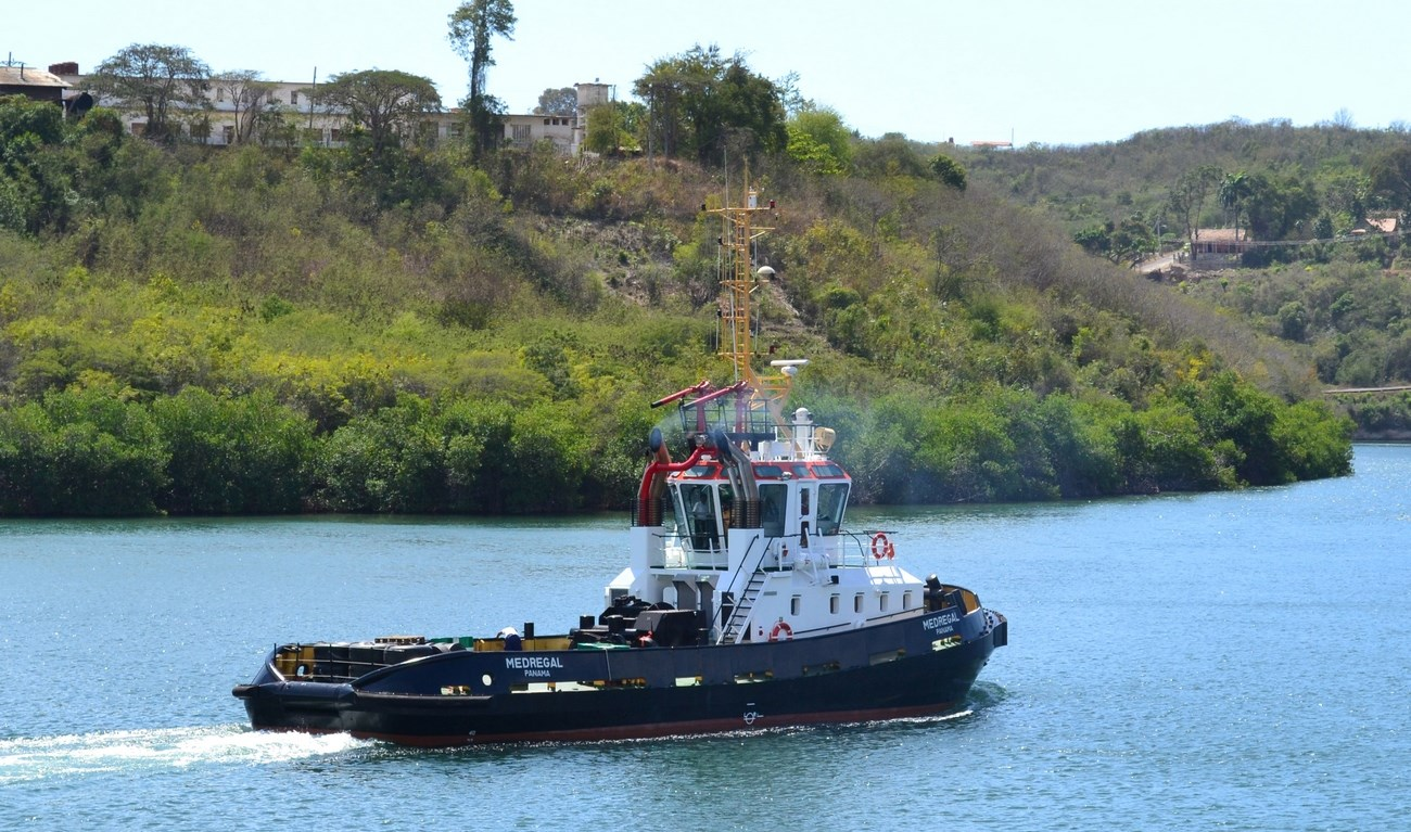 The Damen Stan 2608 Tug 'Medregal' was successfully constructed under Damen  license.