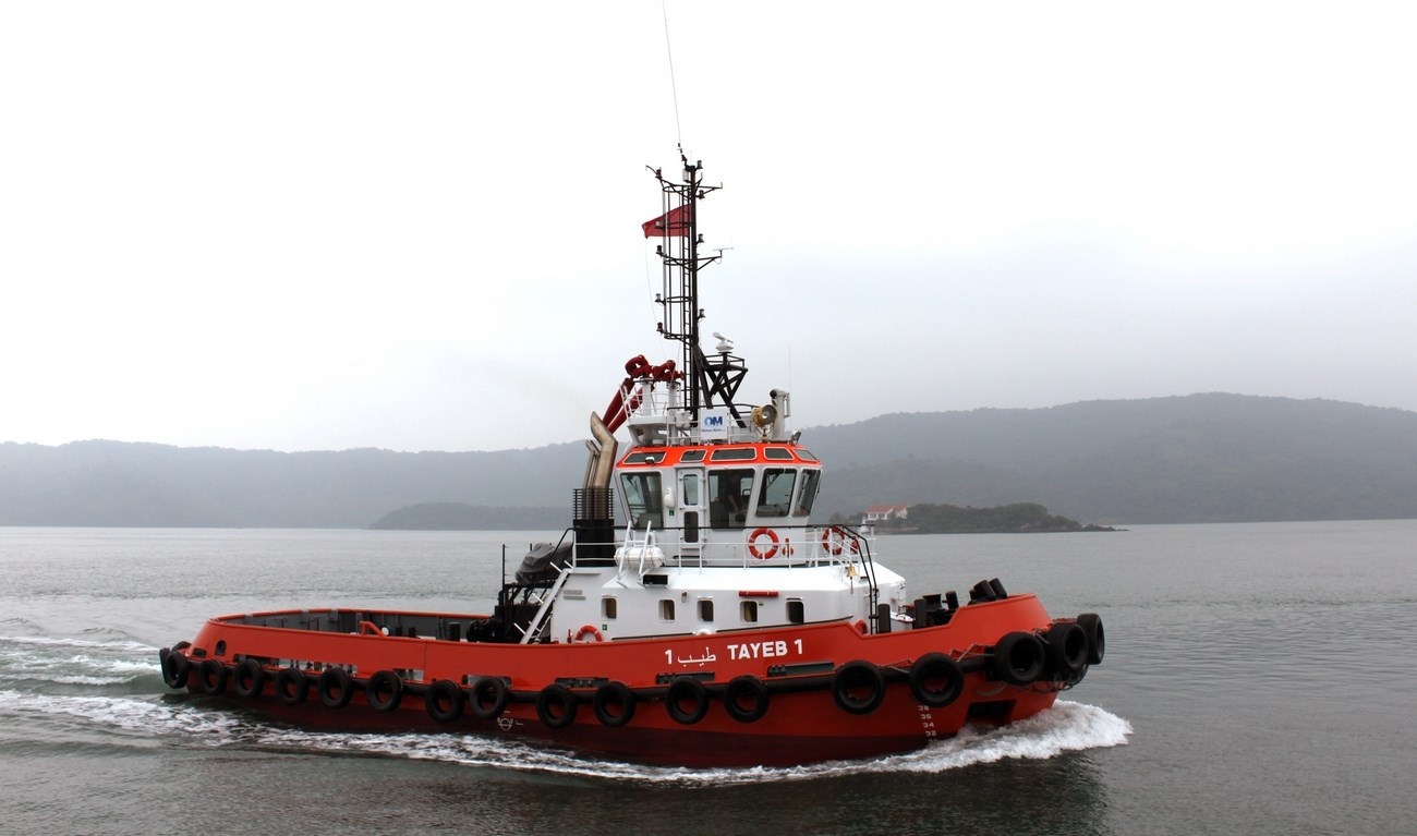 In June 2013, the first of two Stan 2608 Tugs was delivered to Offshore  Maroc