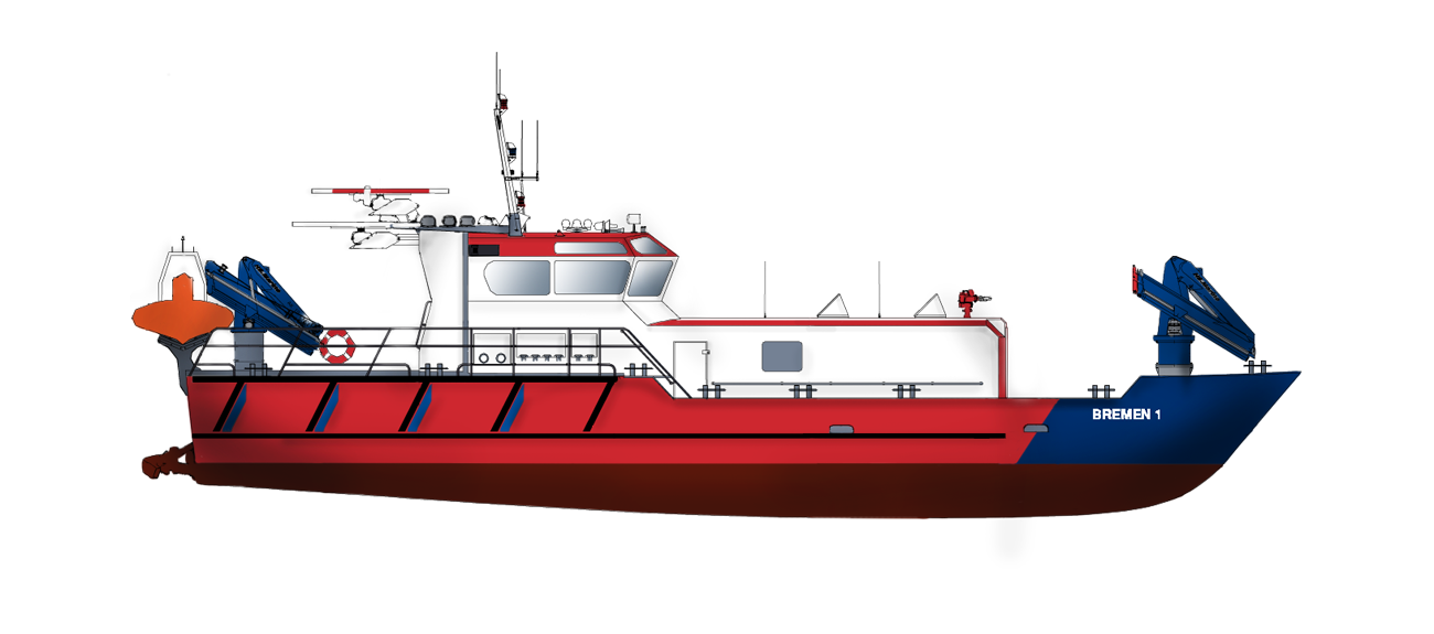 Fire Fighting Ship for maritime fire-fighting