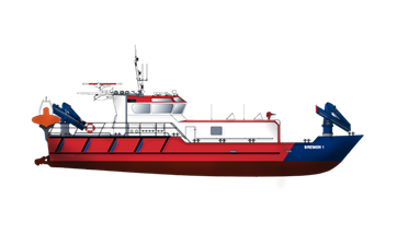 Fire Fighting ship is ideally suited for both fire-fighting and emergency duties