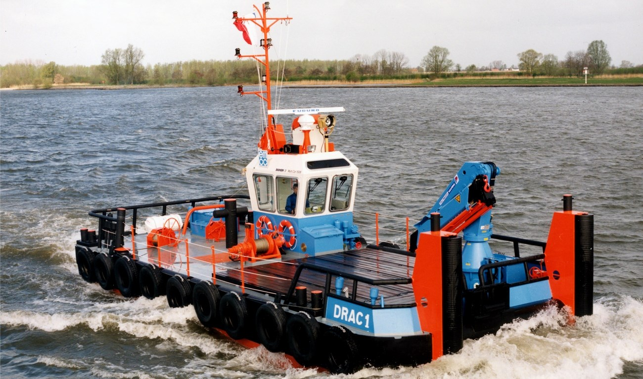 Multicat 1506 for a range of tasks in the coast including towing services