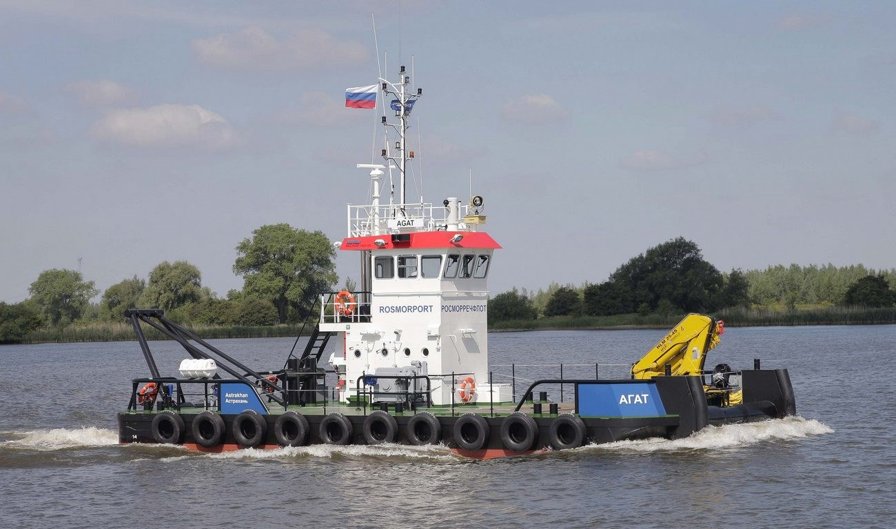 On the 12th of June, 2014 the 'Agat' was delivered to the Federal State Unitary Enterprise 'Rosmorport' in Russia.