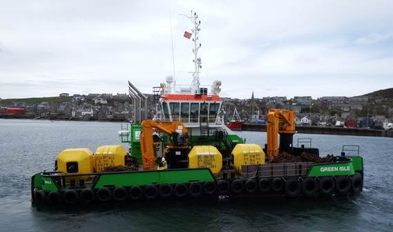 Marine operations company Green Marine Energy Support Services took delivery of a Multi Cat 2712