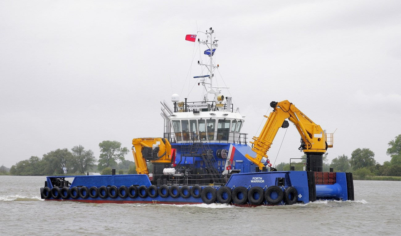 "Damen Multi Cat 2712 ""Forth Warrior"""