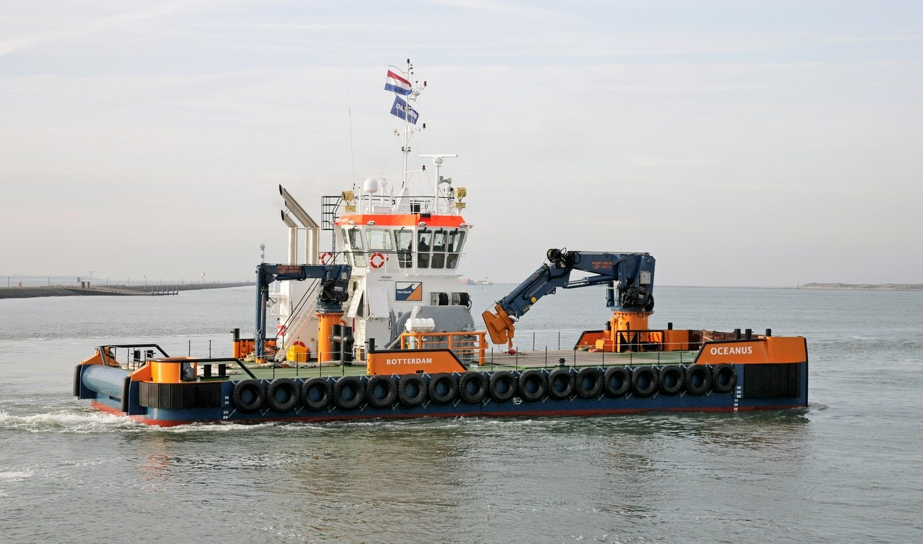 The Damen Multi Cats are standard, multi-purpose work vessels.