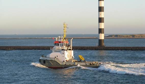 The Pushbuster can operate as a true ATB (Articulated Tug and Barge) unit as well as an independent vessel