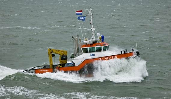Equipped with high quality winches for towing and anchor handling purposes.