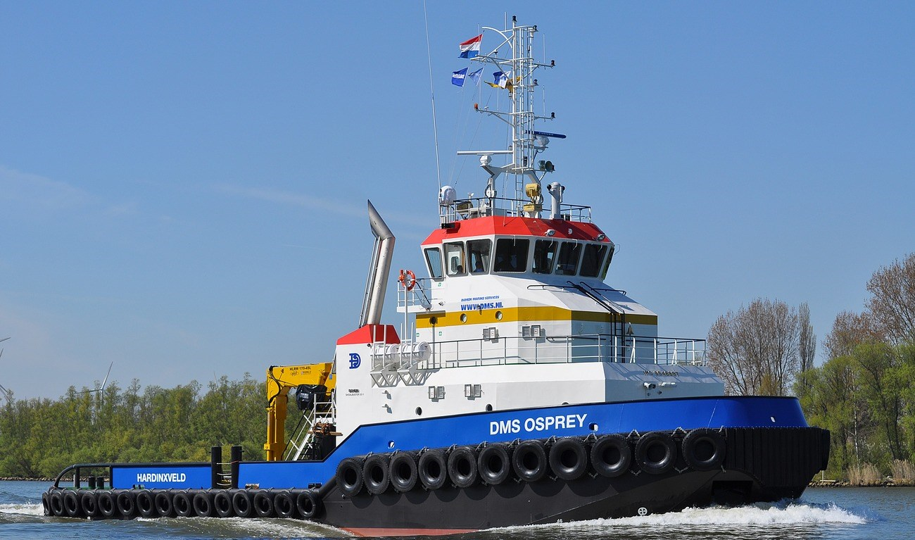 Damen Shoalbuster 3511 is a multi-purpose vessel for harbours, inland and coastal waters