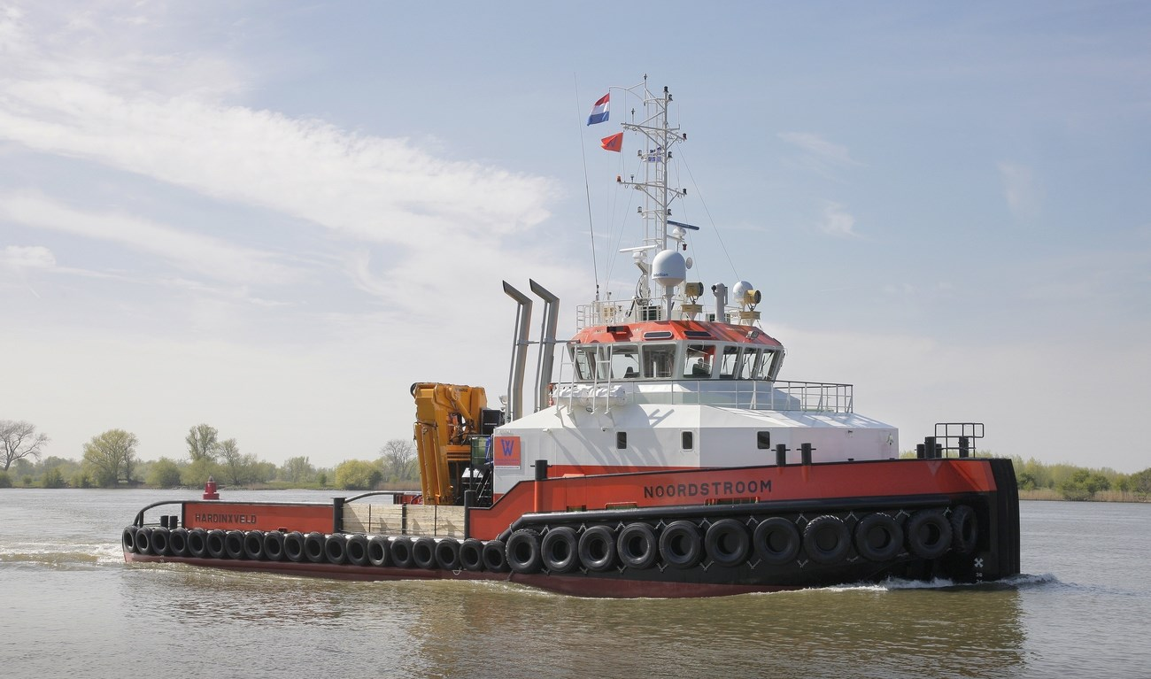 The Damen Shoalbuster series offers a complete range of workboats