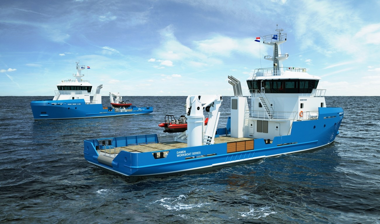 Damen has an outstanding history in designing and building high quality workboats