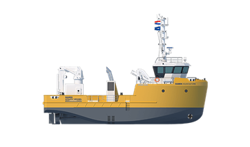 Damen Aquaculture Support Vessel 2510