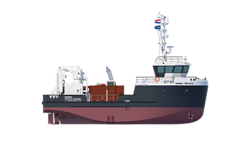 Damen Inspection, Repair & Maintenance Vessel 2510
