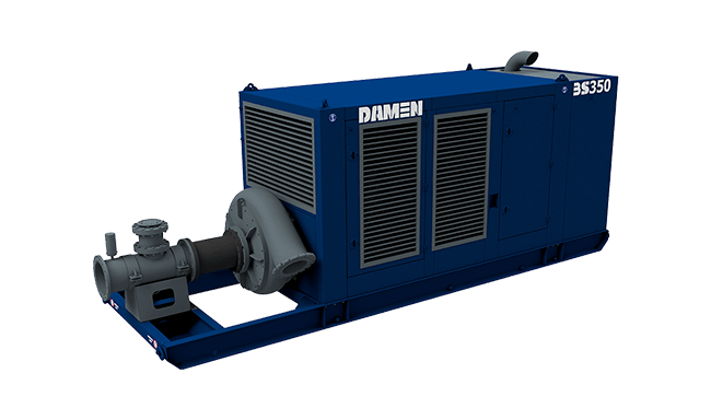With Damen Booster Stations you easily bridge important discharge distances at large jobsites
