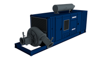 The boosters and cutter suction dredgers have been designed to work in series