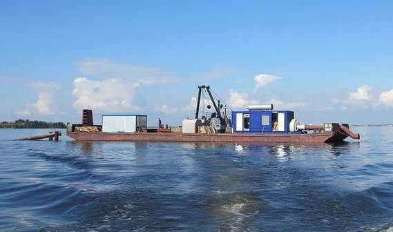 Damen delivered a BS500 booster station to Russia in August 2013
