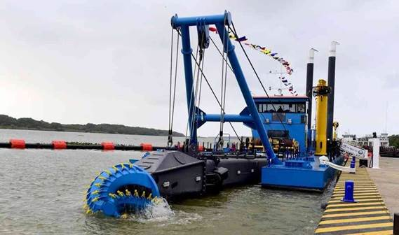damen cutter suction dredger 650 'laguna morelos'