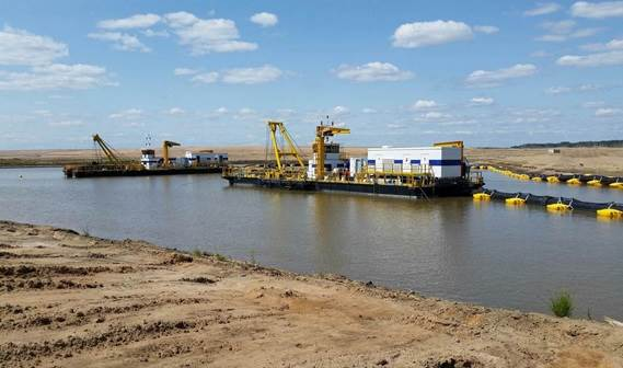 Damen Shipyards Group has completed two electric-powered Cutter Suction Dredgers for the Canadian oil sands industry.