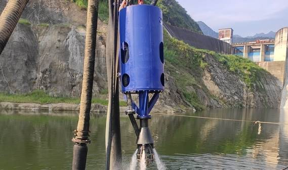 The submersible sand pump will work in Asia
