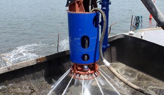 View the video about DOP pump in a barge unloading situation