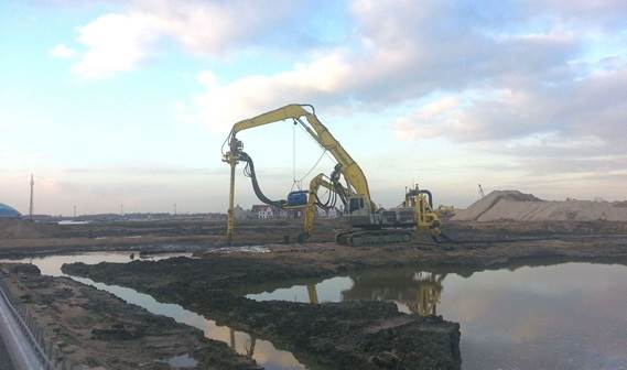 DOP Submersible Dredge Pump working on environmental job