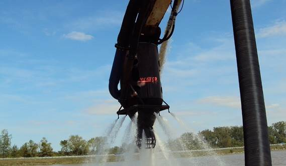 View the video about Damen DOP submersible dredge pump for sand mining