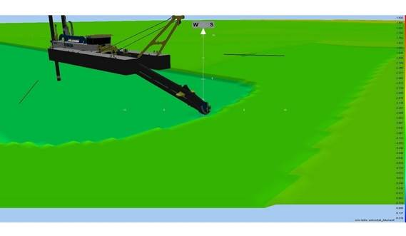 Damen offers Teledyne software to visualize the dredger on its location