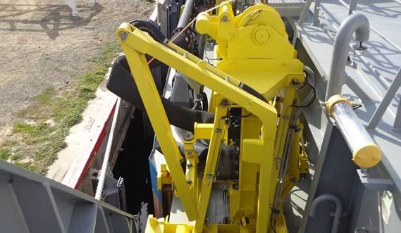 Each trailing dredging kit is different - we make sure that each exactly fits the customer's requirements
