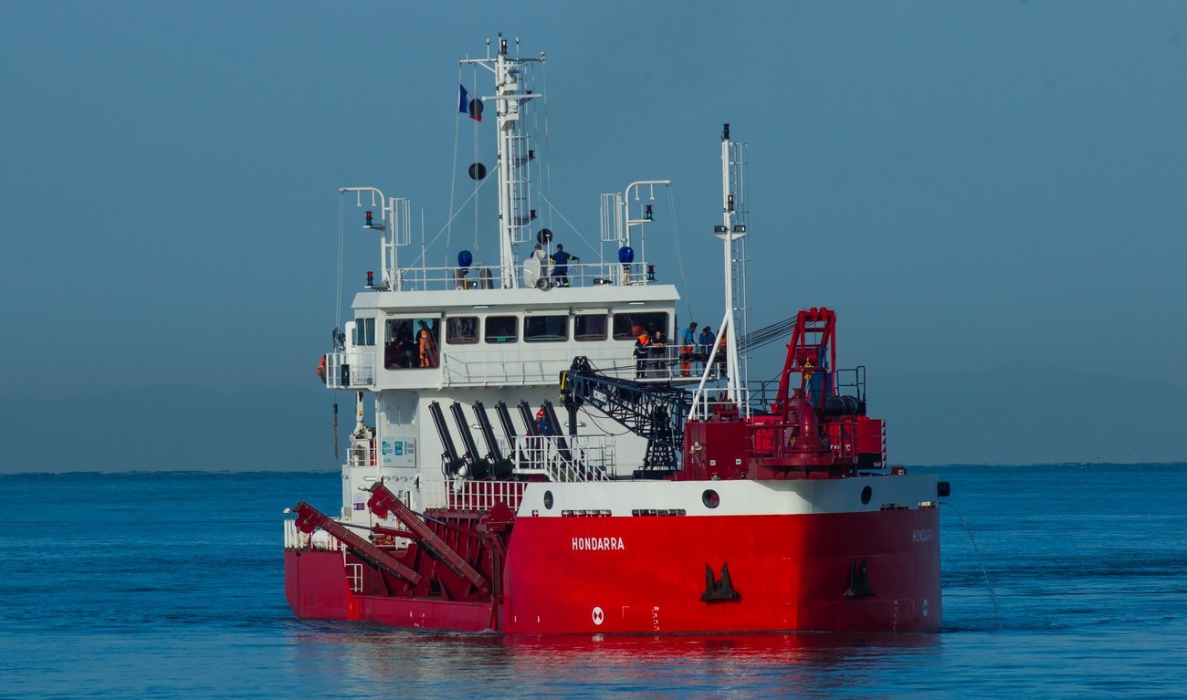 he dredger will perform maintenance dredging duties in the harbour of Bayonne