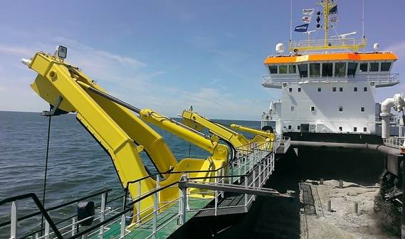 The latest addition to the Boskalis fleet has been put into action after extensive dredge trials.