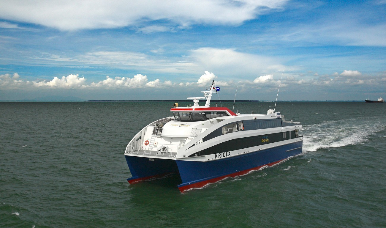 Damen builds high quality Fast Ropax Ferries at various locations around the world.