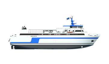 damen ropax ferry 6716 review
